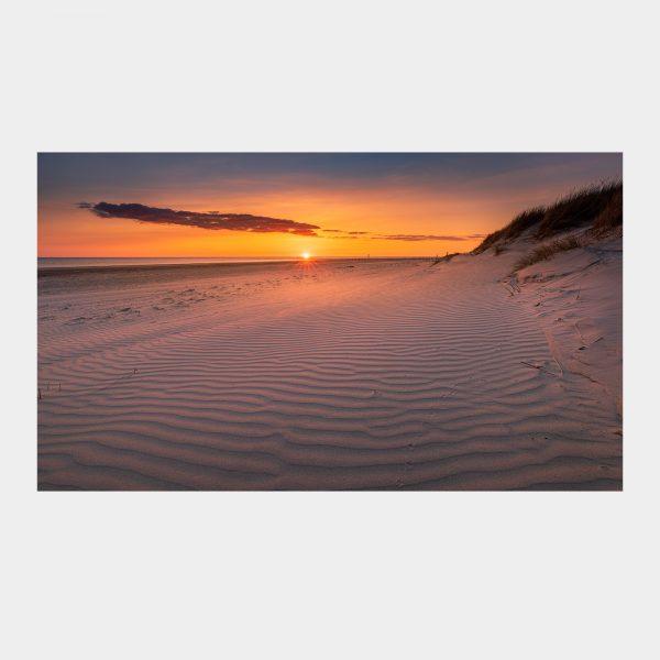 Blåvandshuk solnedgang